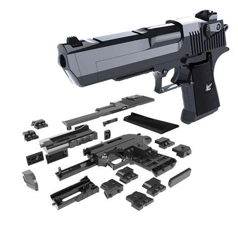 Desert-Eagle 45 Pcs High Quality Blocks Desert Eagle Pistol Toy Gun.