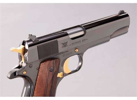45 Semi Auto Handgun Gold