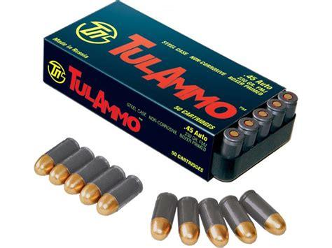 45 Steel Case Ammo