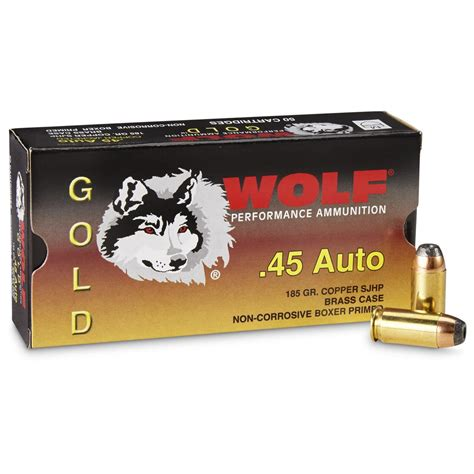 45 Wolf Ammo