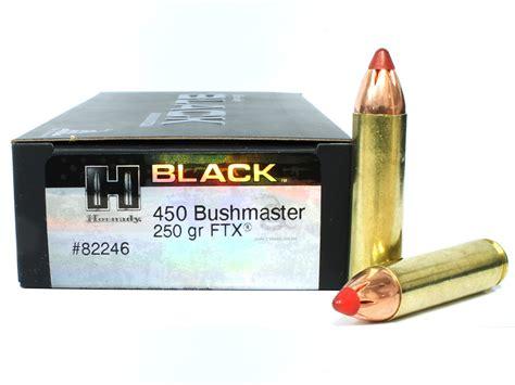 450 Bushmaster Ammo Review