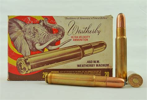 460 Weatherby Ammo