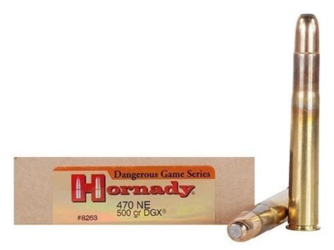 470 Rifle Ammo