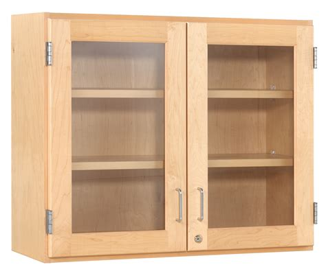 48 Inch Wall Cabinets With 3 Glass Doors