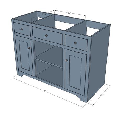 48-Inch-Vanity-Cabinet-Plans