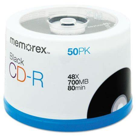 48x Write-Once CD-R Spindle For Data - 50 Disc Spindle