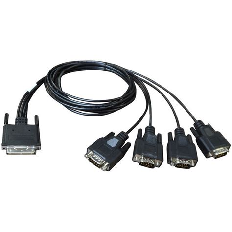 4port Db9m Fan-out Cable for Acceleport Xp