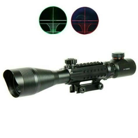 4x12x50 Rifle Scopes