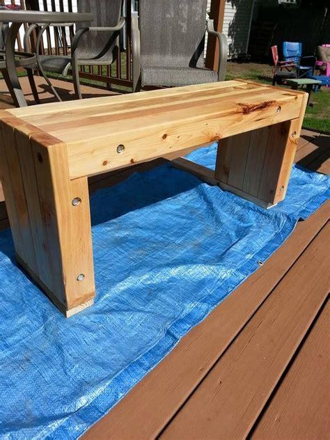 4x4-Bench-Plans