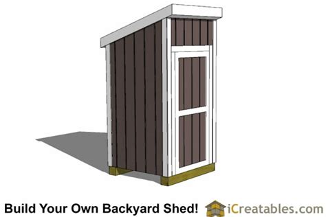 4x4-Lean-To-Shed-Plans