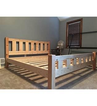 4x4 Bed Frame Plans