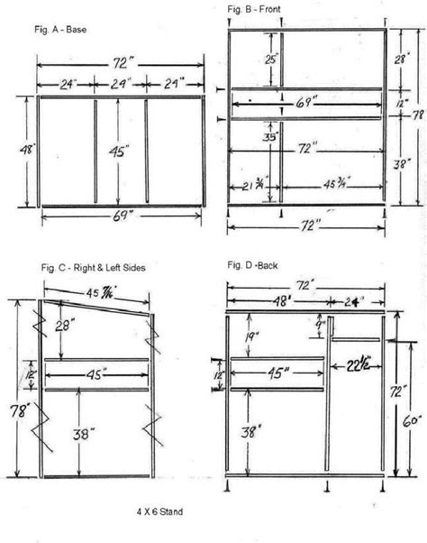 4x6 Tower Stand Plans