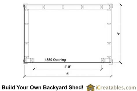 4x6-Wood-Shed-Plans