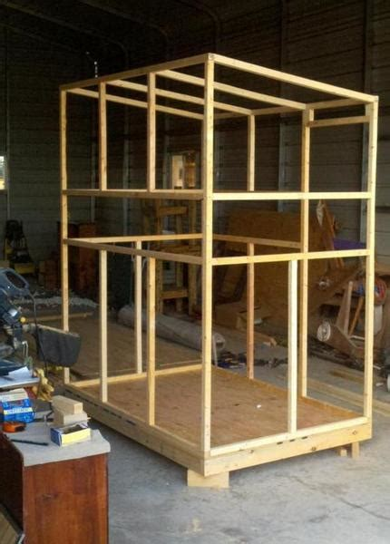 4x8 Deer Shooting House Plans