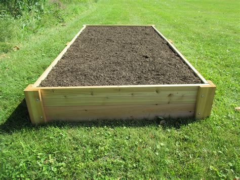 4x8 Raised Garden Bed DIY