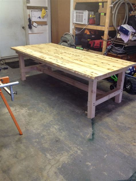 4x8 Table Diy