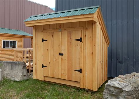 4x8 Tool Shed Plans