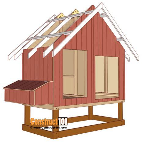 4x8-Chicken-Coop-Plans