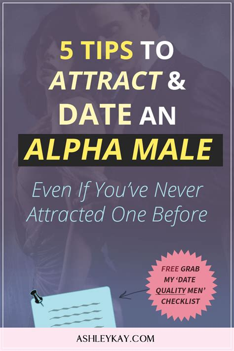 @ 5 Tips To Attract  Date An Alpha Male   Even If You  Ve .