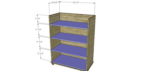 5 drawer dresser plans free Image
