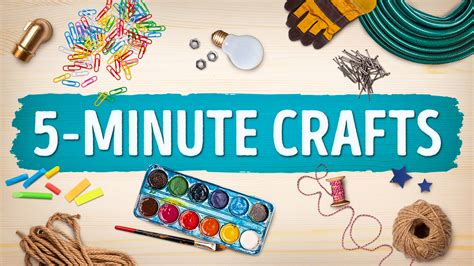 5 minute crafts Image