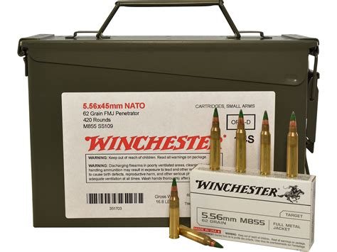 5 56 M855 Ammo Can And 762 X25 Ammo Can