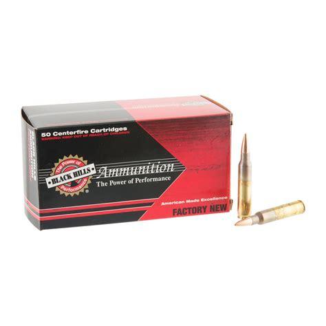5 56 Nato Black Hills 69gr Open Tip Match Ammo - Ammunition