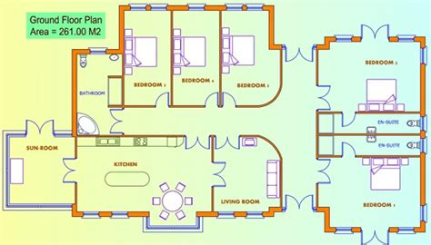 5-Bed-Bungalow-House-Plans-Uk