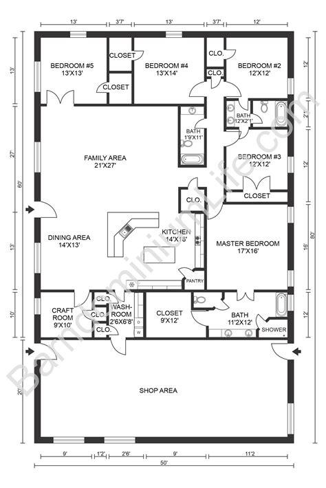 5-Bedroom-Barn-House-Plans