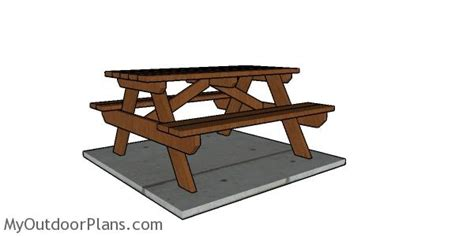 5-Foot-Picnic-Table-Plans