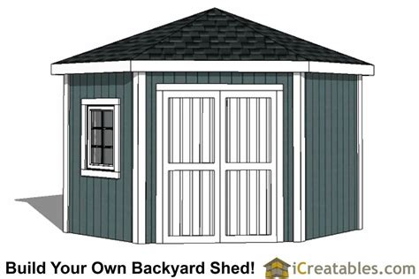 5-Sided-Storage-Shed-Plans
