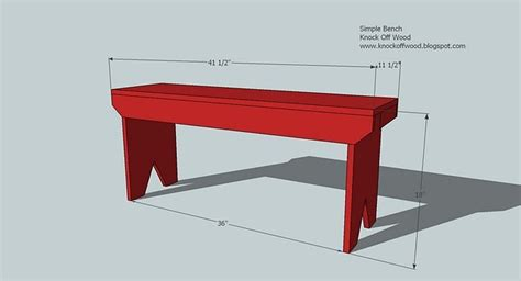 5 Board Bench Plans Image