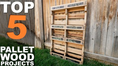 5 top pallet wood projects Image