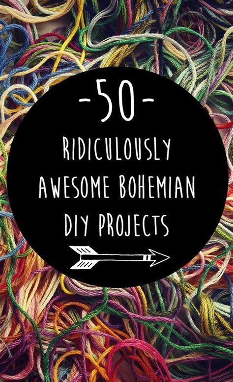 50 Ridiculously Awesome Bohemian Diy Projects