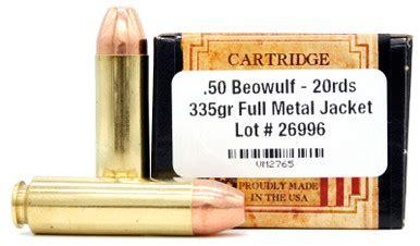50 Beowulf Fmj Bulk Ammo