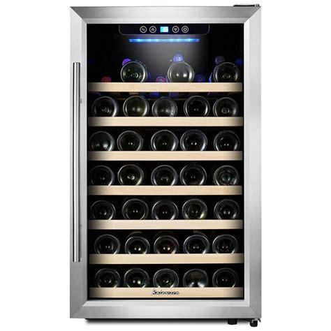 50 Bottle Single Zone Freestanding Wine Cooler
