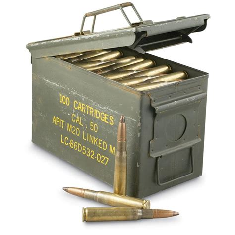 50 Cal Ammo Can Gallons