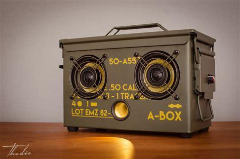 50 Cal Ammo Can Speaker Box