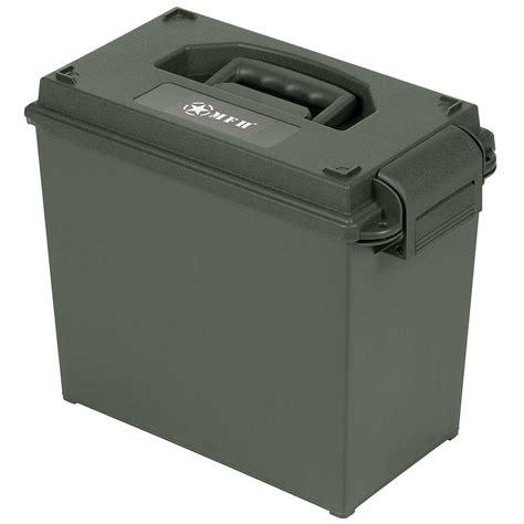 50 Cal Plastic Ammo Box