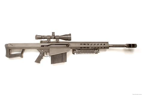 50 Cal Sniper Rifle In Combat