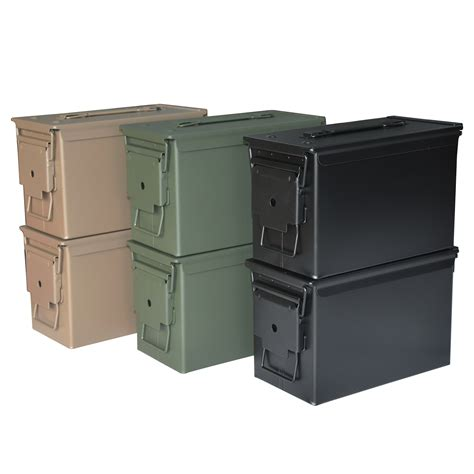 50 Caliber Ammo Can Steel Green - Brownells Italia