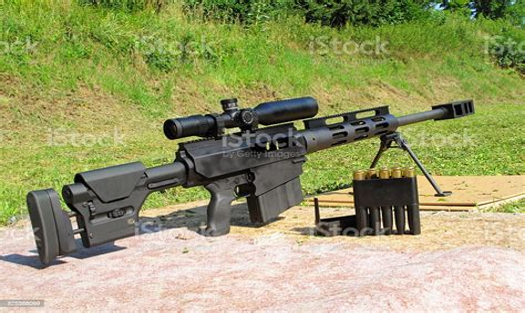 50 Caliber Sniper Rifle Shooting Range