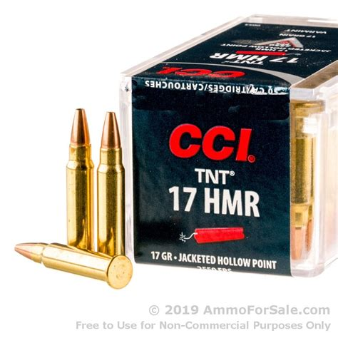 50 Rounds Of Discount 17gr Vmax 17hmr Ammo For Sale By Cci