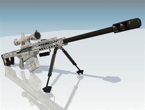 50 Sniper Rifle Barrett