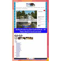 50 mouthwatering slow cooked meals all paleo, gluten free & low carb bonus