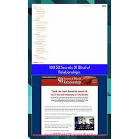 Cheap 50 secrets of blissful relationships