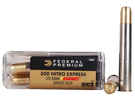500 Nitro Express Ammo For Sale