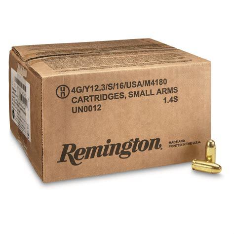 500 Rounds Of Bulk 45 ACP Ammo By Remington - 230gr MC