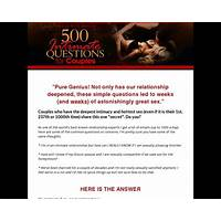 500 intimate questions for couples the secret to sizzling sex instruction