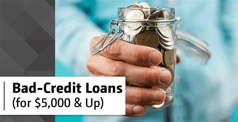 5000 Loan For Poor Credit
